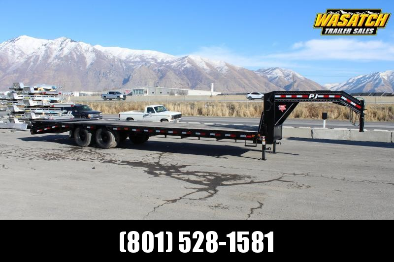 PJ Trailers 8.5x28 Low-Pro Flatdeck With Duals (LD) Flatbed Trailer