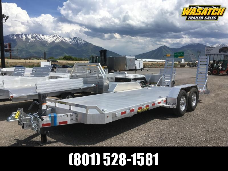 "Aluma 82""x20' Super Heavy Tandem Utility Trailer"