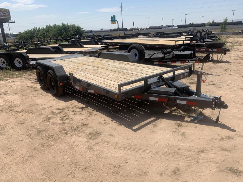 PJ 7x18 Hydraulic Quick Tilt (TH) Equipment