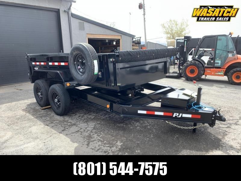 PJ 7x12 2' Side Dump (DL)