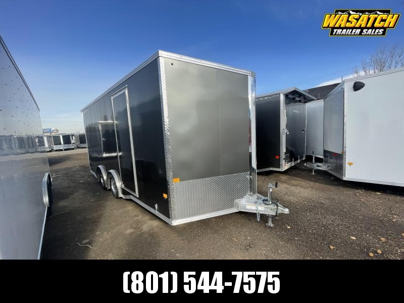 Alcom-Stealth 8.5x18 Aluminum Enclosed Cargo