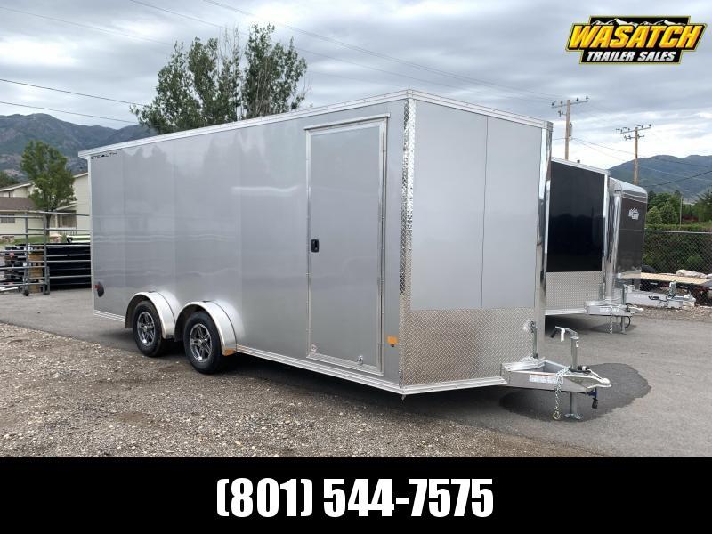 Alcom-Stealth 7.5x18 Aluminum Tandem Enclosed Cargo