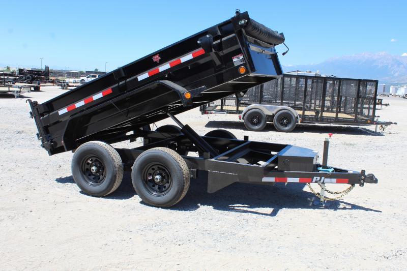 PJ Trailers 6x10 Tandem Axle  (D3) Dump Trailer