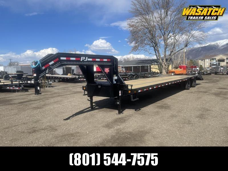 PJ 40' (12k Axles) Gooseneck Duals (LD) Flatbed / Flatdeck / Equipment
