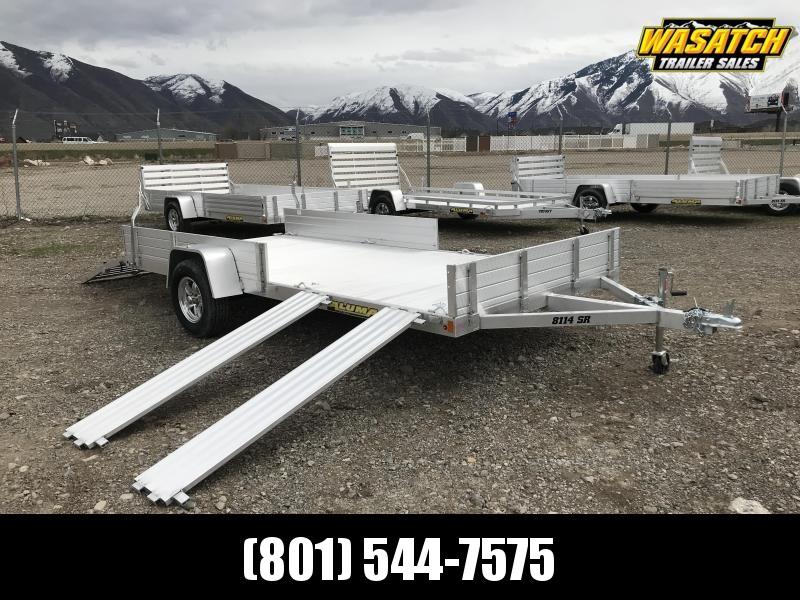 "Aluma 6'8""x14 (8114SR) Aluminum Utility / UTV / ATV / RZR Trailer"