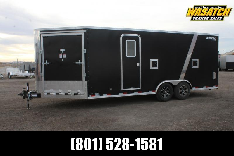 Southland Trailers 85x25 Royal Snowmobile Trailer