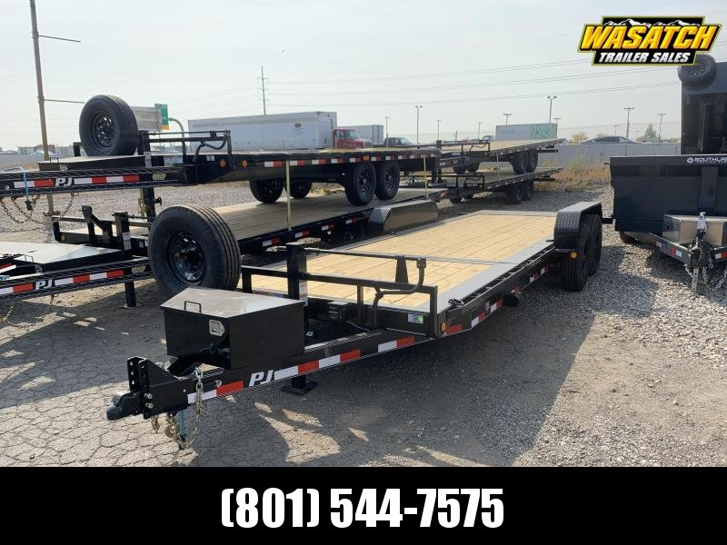 PJ 22' - HD Equipment Tilt 6 in. Channel (TJ) Equipment Trailer