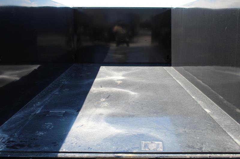 """PJ Trailers 7x14 83"""" Low-Pro High Side (DM) Dump Trailer"""