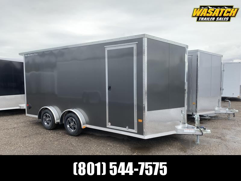 Alcom 7.5x16 Stealth Aluminum Enclosed Cargo