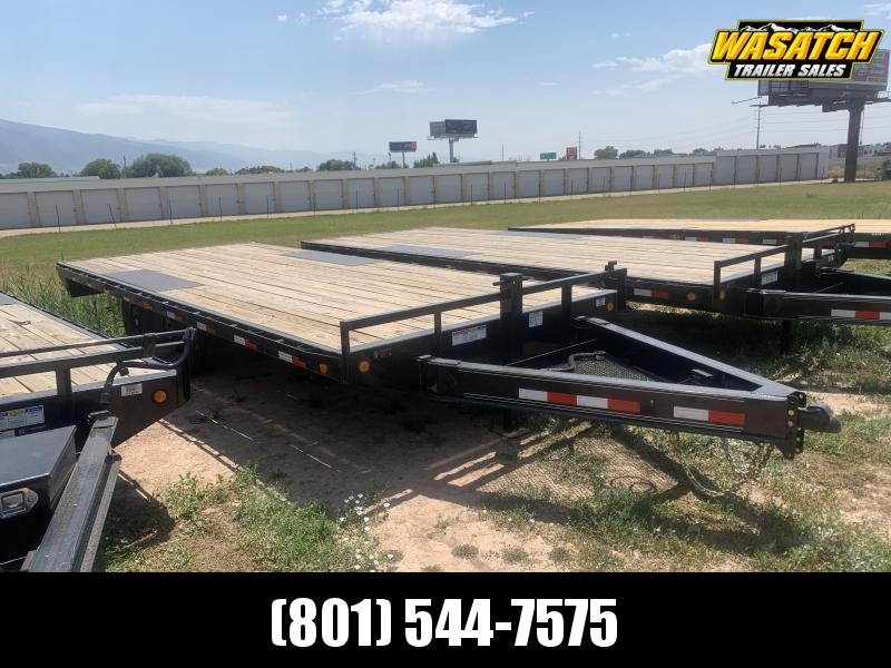 "PJ 20' - 8"" I-Beam Deckover (F8) Flatbed / Flatdeck / Equipment"