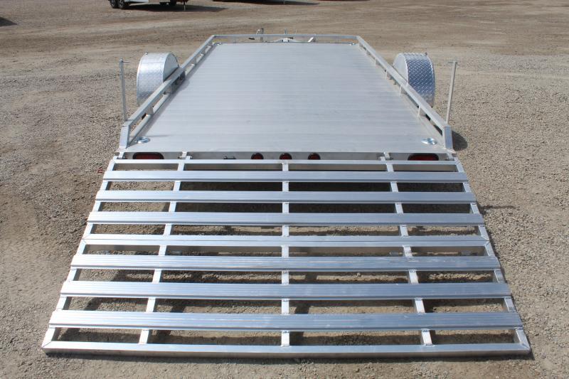 Primo 7x12 Aluminum Low Profile Utility Trailer
