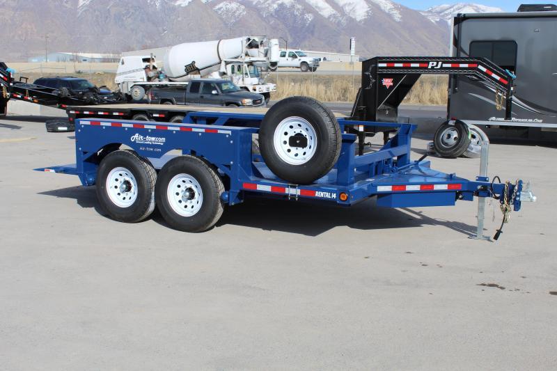 Air Tow Rental-14 Equipment Trailer