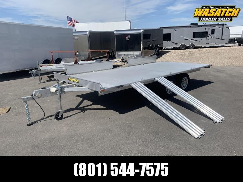 "Aluma 88""x16' (8816) Aluminum ATV Trailer"