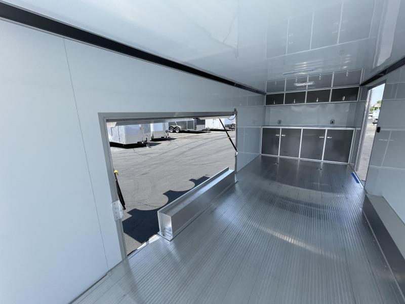 inTech 8.5x24 Aluminum Enclosed Cargo / Car / Racing Trailer