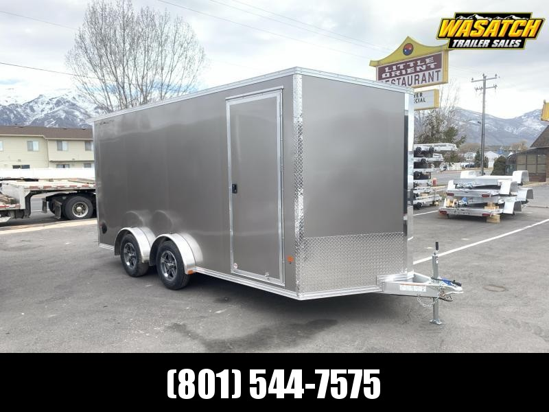 Alcom-Stealth 7.5x14 Stealth Aluminum Enclosed Cargo Trailer