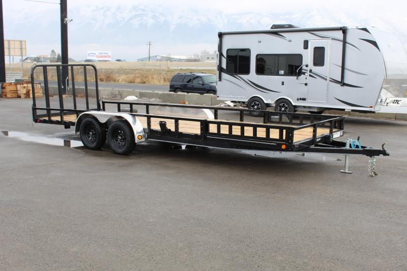 ***PJ Trailers 7x20 Tandem Axle Channel (UL) Utility Trailer***