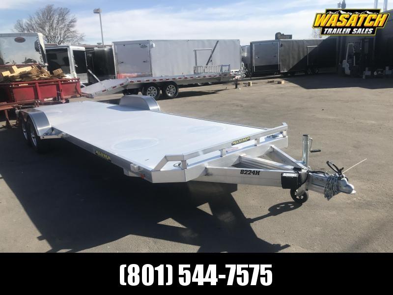"Aluma 8224H (6'9""x24) Aluminum Utility Trailer"