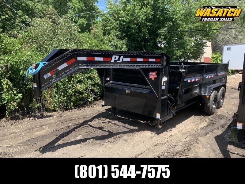 PJ 16' - Heavy Duty Gooseneck Dump (DE)