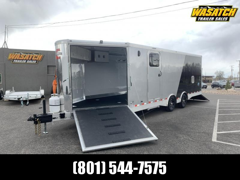 Charmac 30 ft Elite Trisport Snowmobile Trailer