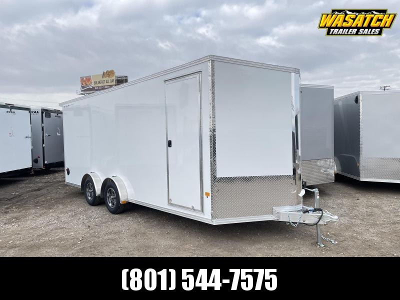 Alcom-Stealth 7.5x20 Aluminum Enclosed Cargo