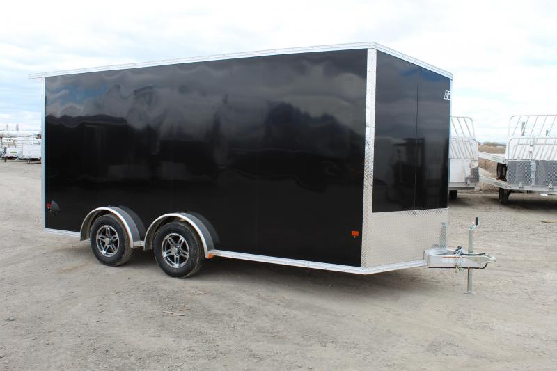 Alcom 7.5x16 EzHauler Aluminum Enclosed Cargo Trailer w/ UTV Package