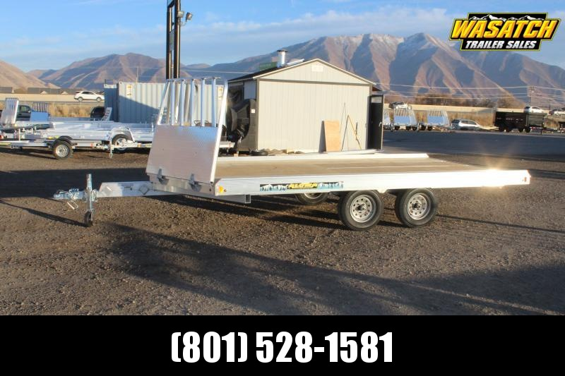 Aluma 8614 Aluminum Snowmobile Trailer