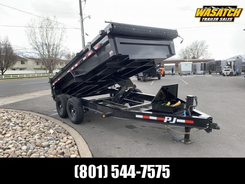 PJ 7x14 2' High Side (DL) Dump