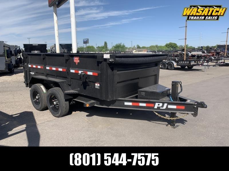 PJ 7x12 Tandem 3' High Side Dump (DM)
