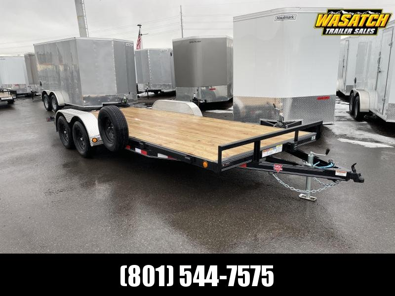 PJ 20' - 4 in. Channel Carhauler (C4) Car / Racing Trailer