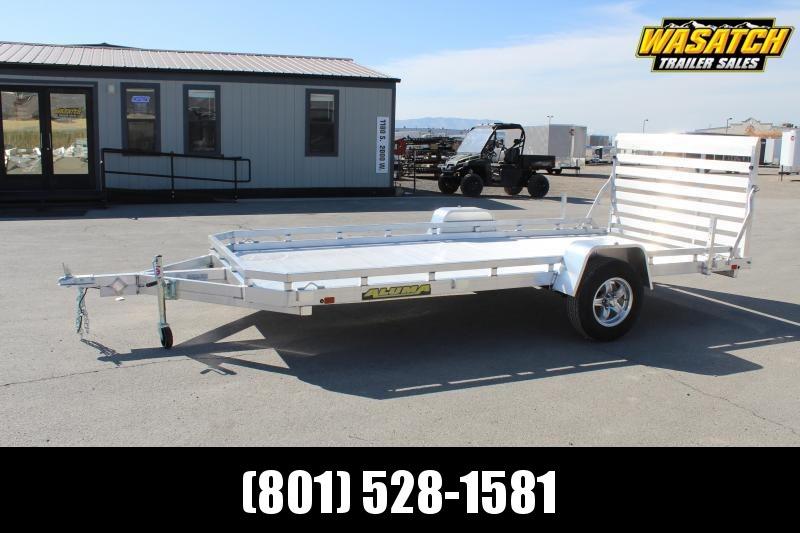Aluma 7814 Aluminum Utility Trailer w/ Electric Brakes