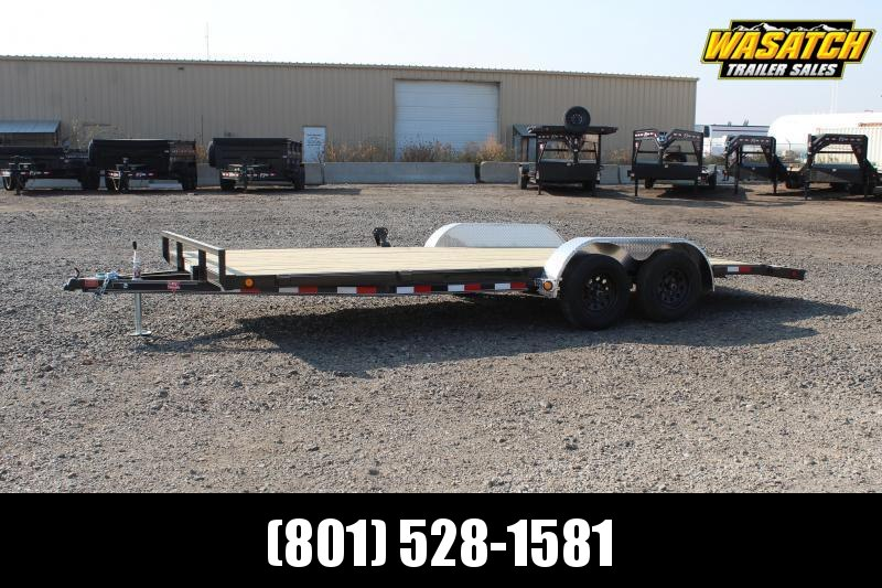 "PJ Trailers 7x20 4"" Channel Carhauler (C4) Car / Racing Trailer"