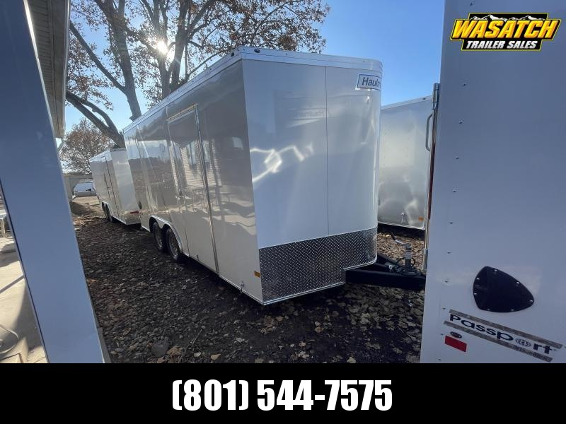 Haulmark 8.5x16 Transport Enclosed Cargo w/ UTV pkg