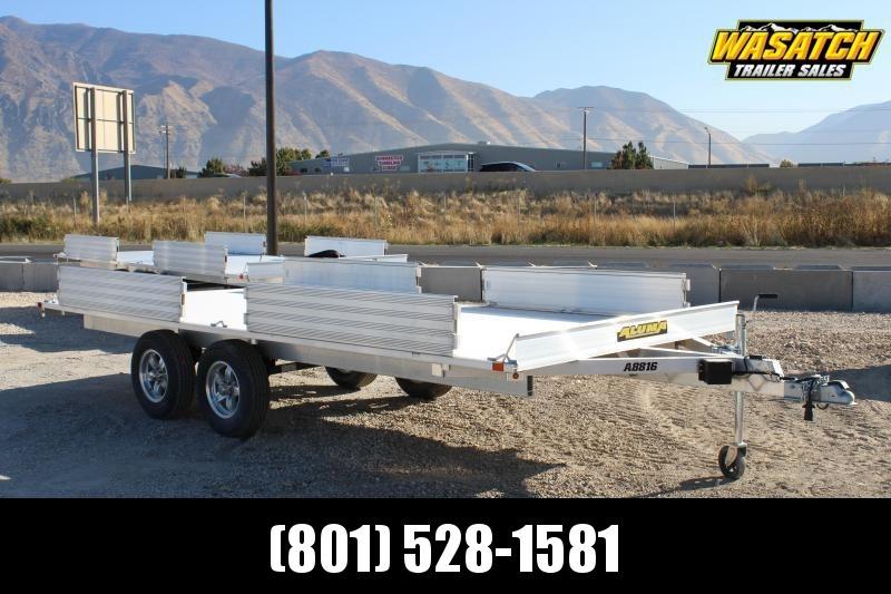 Aluma 8816 Aluminum ATV Trailer
