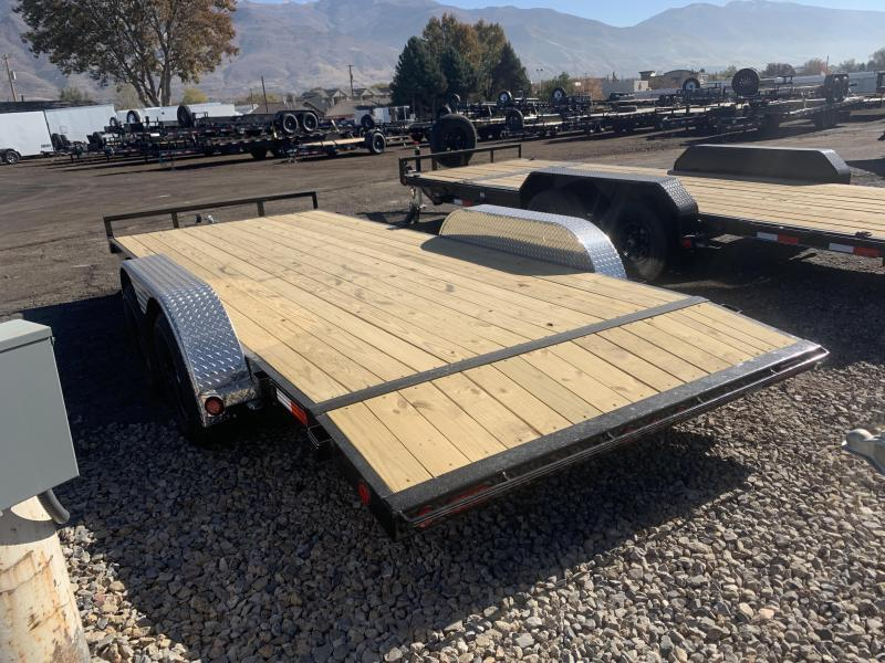 PJ 18' - 4 in. Channel Carhauler (C4) Car / Racing Trailer