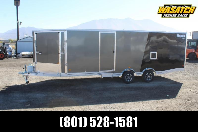 Mission 85x29 Allsport Peak Value Snowmobile Trailer