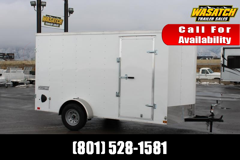 Haulmark 6x12 Passport Deluxe Enclosed Cargo Trailer