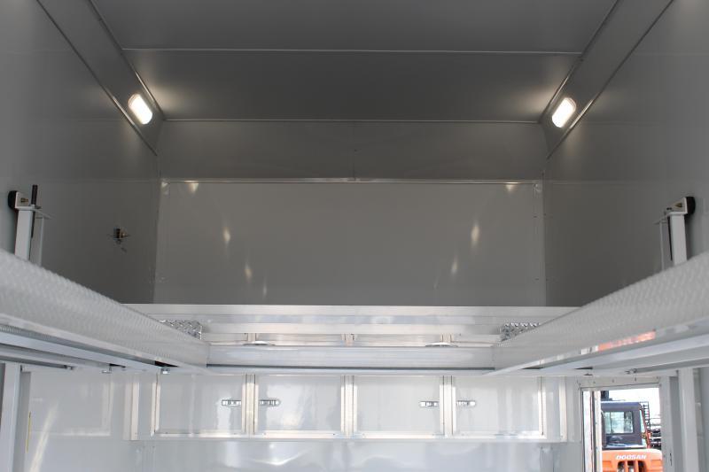 Haulmark 85x24 ALX Aluminum Stacker Car / Racing Trailer