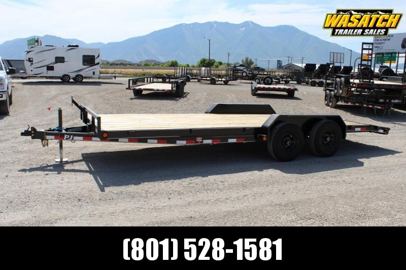 "PJ Trailers 7x22 5"" Channel Carhauler (CE) Equipment Trailer"