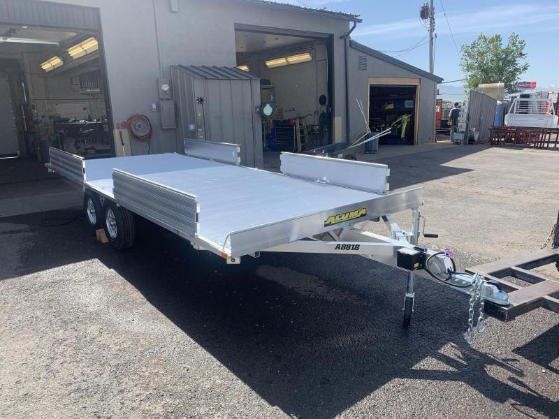 "Aluma 7'4""x18 Aluminum (A8818) ATV Trailer"