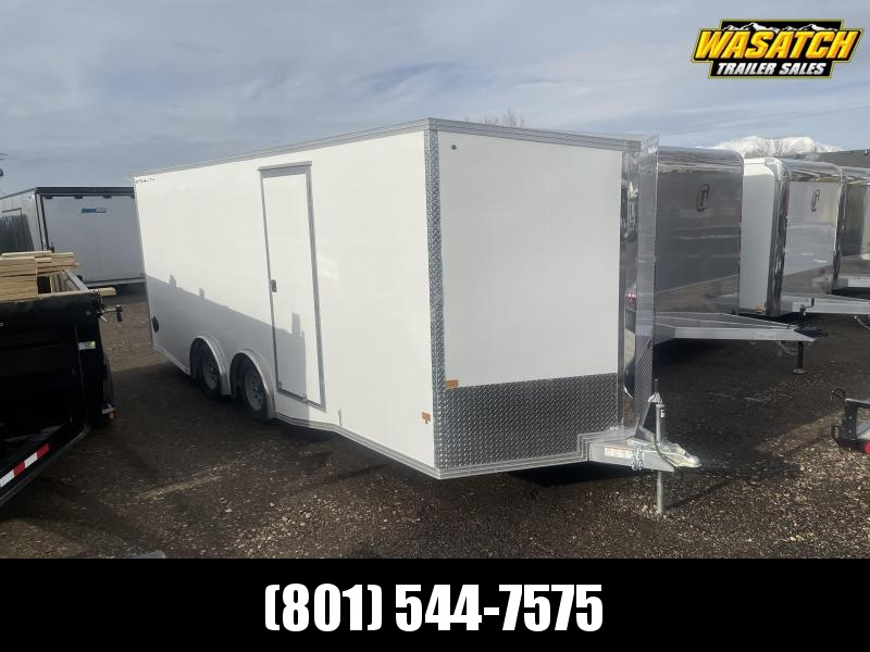 Alcom-Stealth 8.5x20 Aluminum Enclosed Cargo