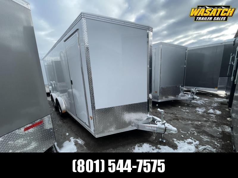 Alcom-Stealth 7.5x18 Aluminum Enclosed Cargo