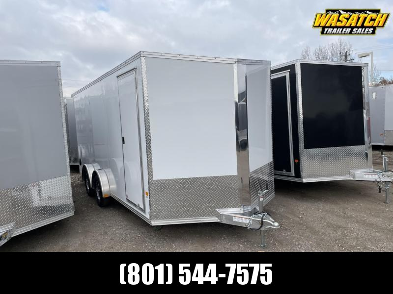 Alcom-Stealth 7.5x18 Aluminum Enclosed Cargo