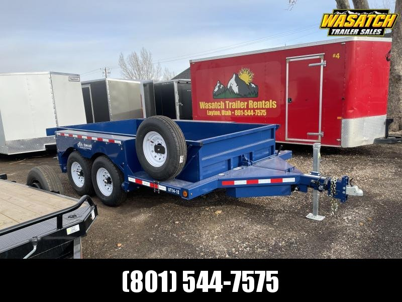 Air Tow UT14-12 Tandem Axle Equipment Trailer