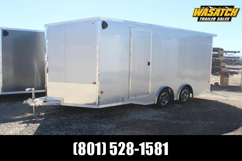 ALCOM 85x18 Ezhauler Aluminum Enclosed Cargo Trailer