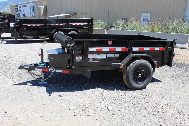 PJ Trailers 5x8 Utility Dump (D5) Dump Trailer