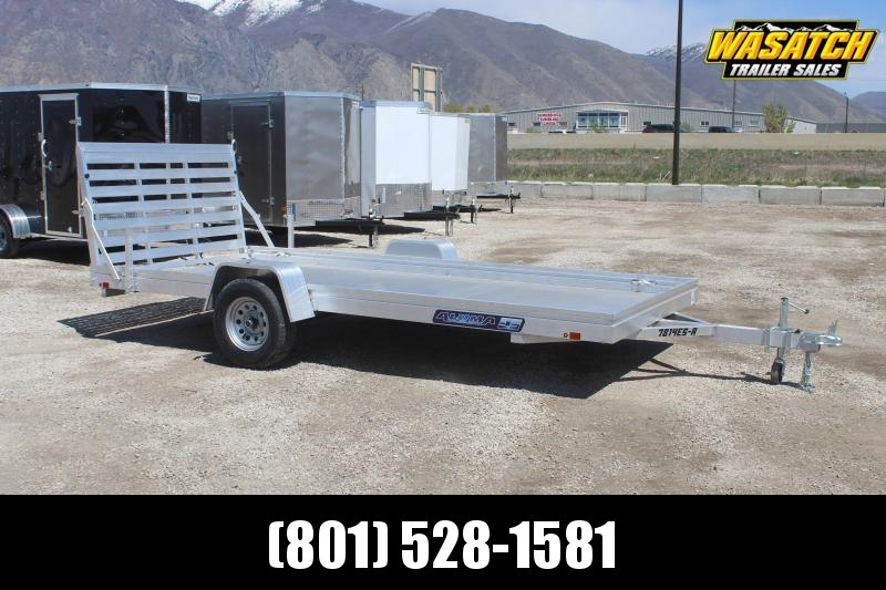 Aluma 7814ES Aluminum Utility Trailer