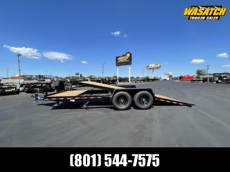 Teton - 7x20 - Tandem 7k - Tilt / Equipment Trailer