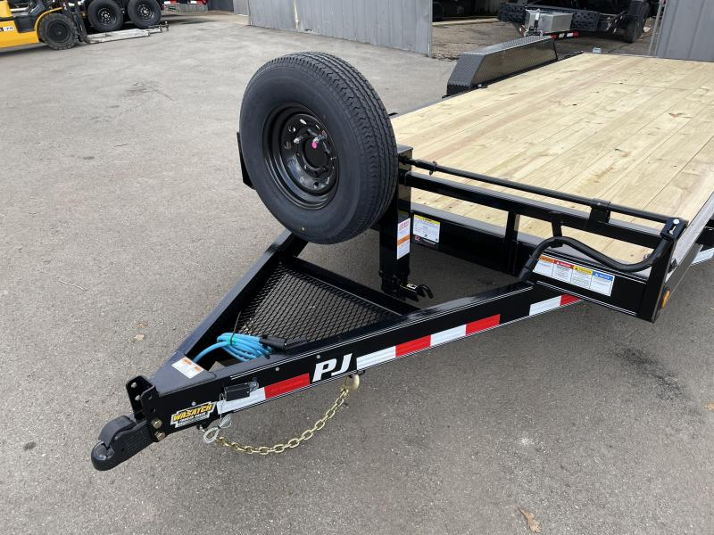 PJ 18' - 6 in. Channel Equipment (CC) Car / Racing Trailer