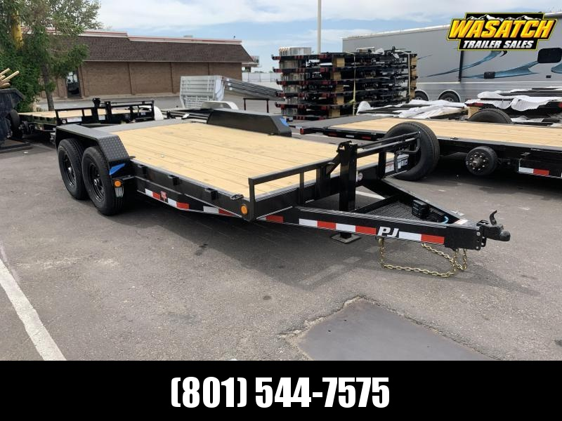 PJ 18' - 6 in. Channel Equipment (CC) Car / Racing Trailer