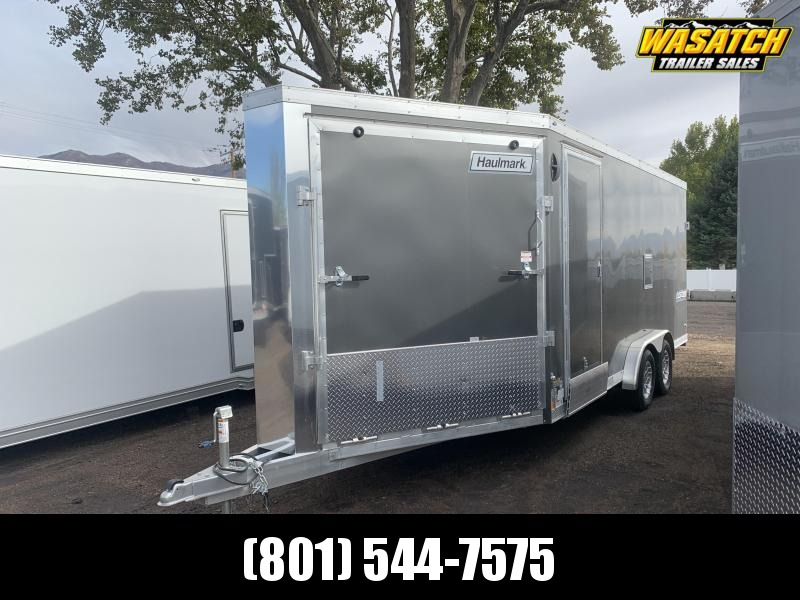 2021 Haulmark 7.5x24 Aluminum Venture Enclosed Snowmobile Trailer